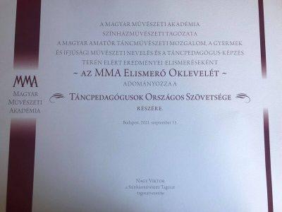 MMA oklevel